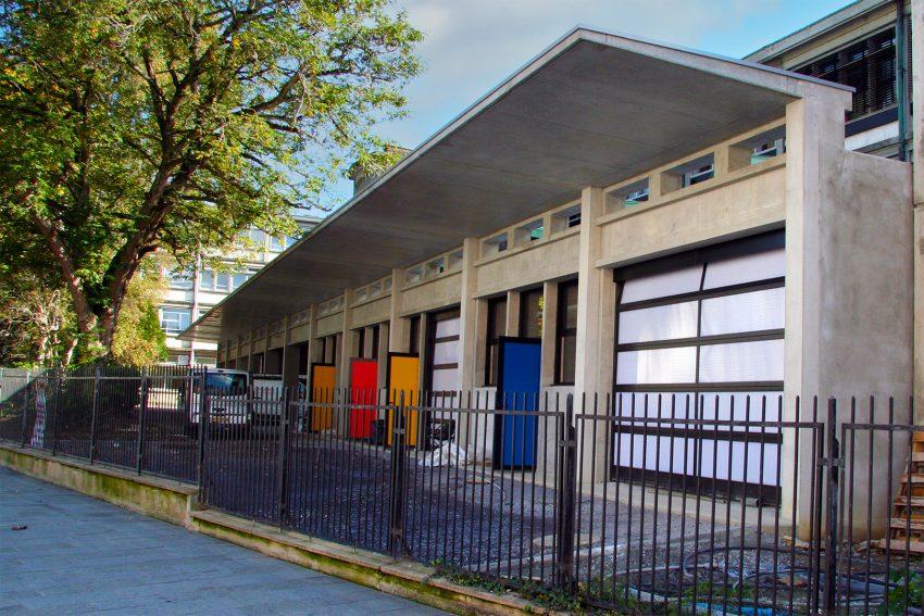Lycée Louis Barthou à Pau : Locaux des Agents